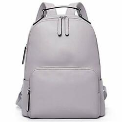 BOSTANTEN Genuine Leather Backpack Purse for Women Travel Large College Gray $135.58