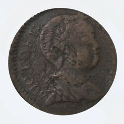 1786 Vermont Copper Baby Head Variety Pcgs Certified Vf25