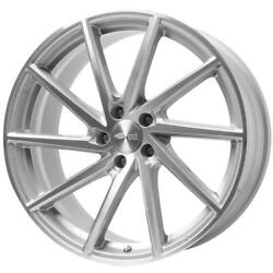 Jantes Roues Brock B37 Audi A3 Staggered 8x18 5x112 Et 45 Silver Mirror A37