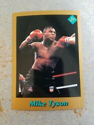 Mike Tyson USA Boxing Boxer 1991 Tuff Stuff Jr Bronze Border Rookie CENTERED