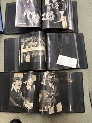 3 Beatles Scrapbook Newspaper Articles Magazine Clippings Photos Trading Cards