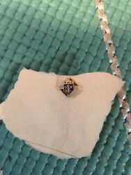 Vintage Knights Of Columbus Enamel Pin. Very Tiny And Collectible
