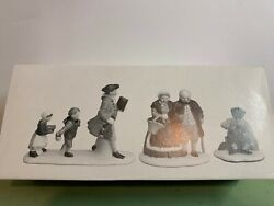 Department 56 Sleepy Hollow Set Of 3 5956-0 Missing One And One Broke