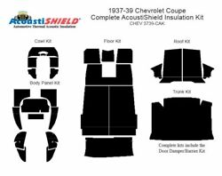 1937 - 1939 Chevrolet Coupe Complete Acoustic Insulation Kit