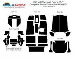 1942 - 1948 Chevrolet Coupe Complete Acoustic Insulation Kit