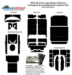 1956 Chevrolet Sedan Delivery Complete Acoustic Insulation Kit