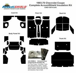 1965 - 1970 Chevrolet Coupe Complete Acoustic Insulation Kit