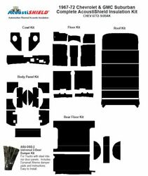 1967 - 1972 Chevy Suburban Complete Acoustic Insulation Kit