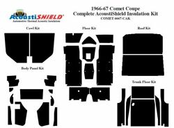 1966 1967 Comet Coupe Complete Acoustic Insulation Kit