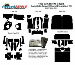1968 - 1982 Chevy Corvette Coupe Complete Acoustic Insulation Kit
