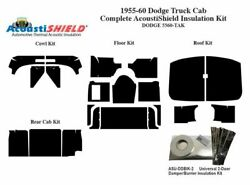 1955 - 1960 Dodge Truck Complete Acoustic Insulation Kit