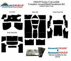 1968 1969 Torino Convertible Complete Acoustic Insulation Kit