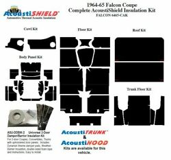 1964 1965 Falcon Coupe Complete Acoustic Insulation Kit