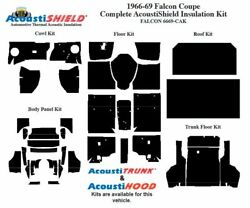 1966 - 1969 Falcon Coupe Complete Acoustic Insulation Kit