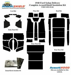 1940 Ford Sedan Delivery Complete Acoustic Insulation Kit