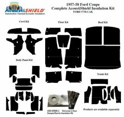 1957 1958 Ford Coupe Complete Acoustic Insulation Kit