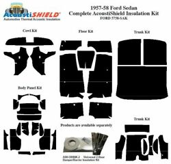 1957 1958 Ford Sedan Complete Acoustic Insulation Kit