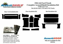 1961 - 1964 Ford Truck Complete Acoustic Insulation Kit