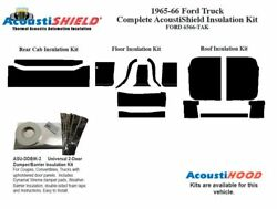 1965 1966 Ford Truck Complete Acoustic Insulation Kit