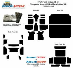 1965 Ford Sedan Complete Acoustic Insulation Kit