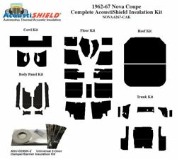 1962 - 1967 Chevy Nova Coupe Complete Acoustic Insulation Kit