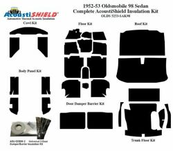 1952 - 1953 Oldsmobile 88 And 98 Sedan Complete Acoustic Insulation Kit