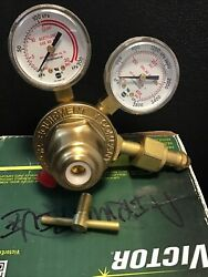 Victor 0781-3583 Vts260a-300 Two Stage Acetylene Regulator