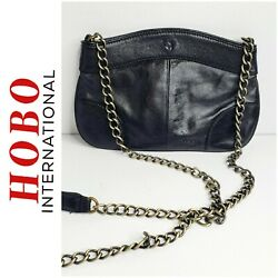 Hobo international brand black crossbody purse with chain strap $30.00