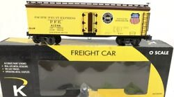 ✅k-line By Lionel Pacific Fruit Express Wood Side Reefer Car O Scale Pfe Union
