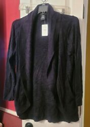 Max amp; Mia The Essential Travel Cardigan Super Soft New with Tags $14.00