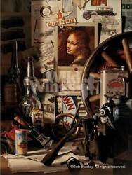 The Angel Down At Dell's Garage Limited Edition Print By Bob Byerley