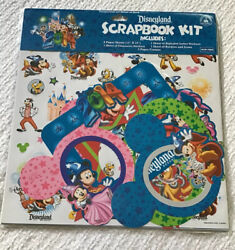 Disneyland Park Resort Scrapbook Kit Stickers Frame Border 2014 Character NIP
