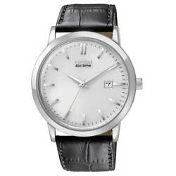 Citizen Menand039s Watch Stainless Steel Case Eco-drive Silver Dial Bm7190-05a
