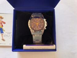 Seiko One Piece Watch Anime 20th Anniversary Blue Face Limited 5000 Mens 14a