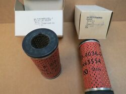 2 Each New Boeing T50-bo-8a Gas Turbine Jet Engine Oil Filters Bacp 49-4036-2