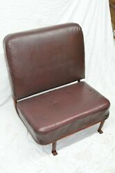 Vintage Willys Jeep Station Wagon Rear Seat 2nd Row Complete Wide Side Frame Oem