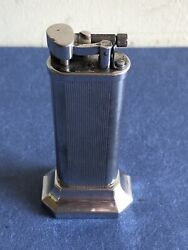 Vintage Table Cigarette Lighter By Dunhill, Circa 1970