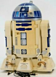 R2-d2 Star Wars Cool And Hot Drink Refrigerator Limited From Japan [rare]b00234
