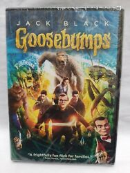 GOOSEBUMPS Jack Black 2016 DVD New