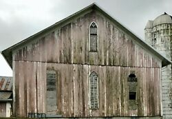 Old Barn With Beams And Weathered Siding 86and039 X 40and039