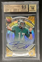 2012 Finest Atomic Gold Refractor Rc Ryan Tannehill 20/25 Bgs 9.5 Auto 10 Hot