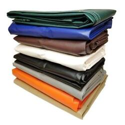 Clearance 20 Off - 18 Oz Vinyl Laminated Polyester Tarp - Multiple Sizes Colors