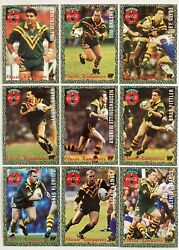 1995 Dynamic Rugby League Classic Kangaroos 18 Card Set - Trading Cards Mint