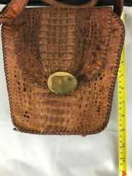 Vintage Alligator Purse With Change Purse Foot And Claw Purse And Change Wallet