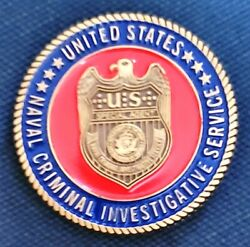Awesome 1.5 Usn Navy Ncis Military Challenge Coin Middle East