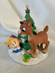 Rudolph's Brightest Christmas Ornament - Carlton Heirloom Collection New In Box