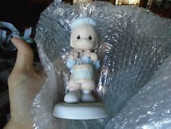 Precious Moments Figurine 521981 Ln Box Marching To The Beat Of Freedom's Drum