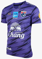 100 Official Thailand National Football Soccer Team Jersey Player Purple