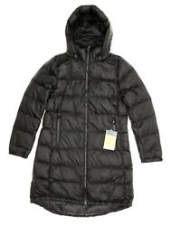 The Black Metropolis Parka Iii Womenand039s Hooded Coat Size L H1119
