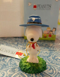 Westland Giftware PEANUTS Snoopy Camping Beagle Scout Figurine #8242 NIB